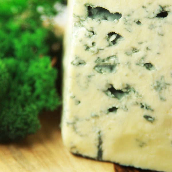 A close up of Cashel Blue Cheese