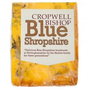 Cropwell Bishop Blue Shropshire Cheese