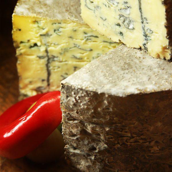 A close up of Mrs Temple's Binham Blue Cheese
