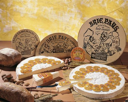 Brie De Pays Cheese