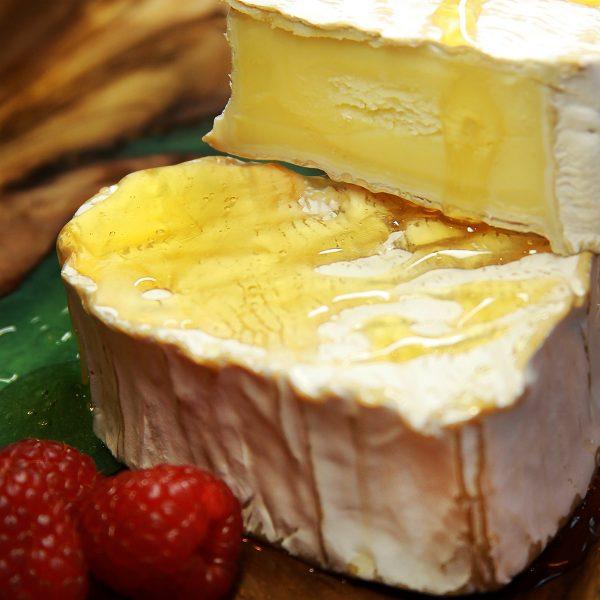 A close up of Coeur De Neufchatel Cheese