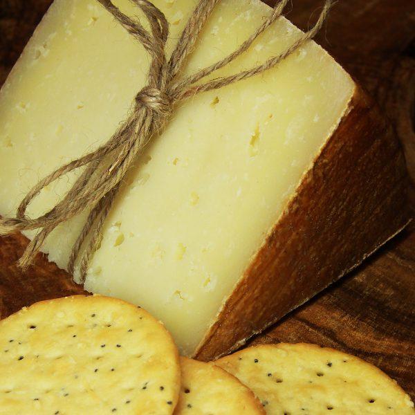 A close up of Manchego Curado Cheese