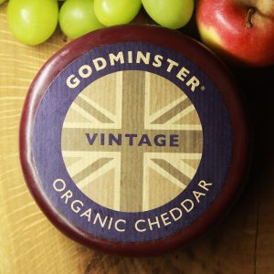 Godminster Organic Cheddar Truckle Cheese
