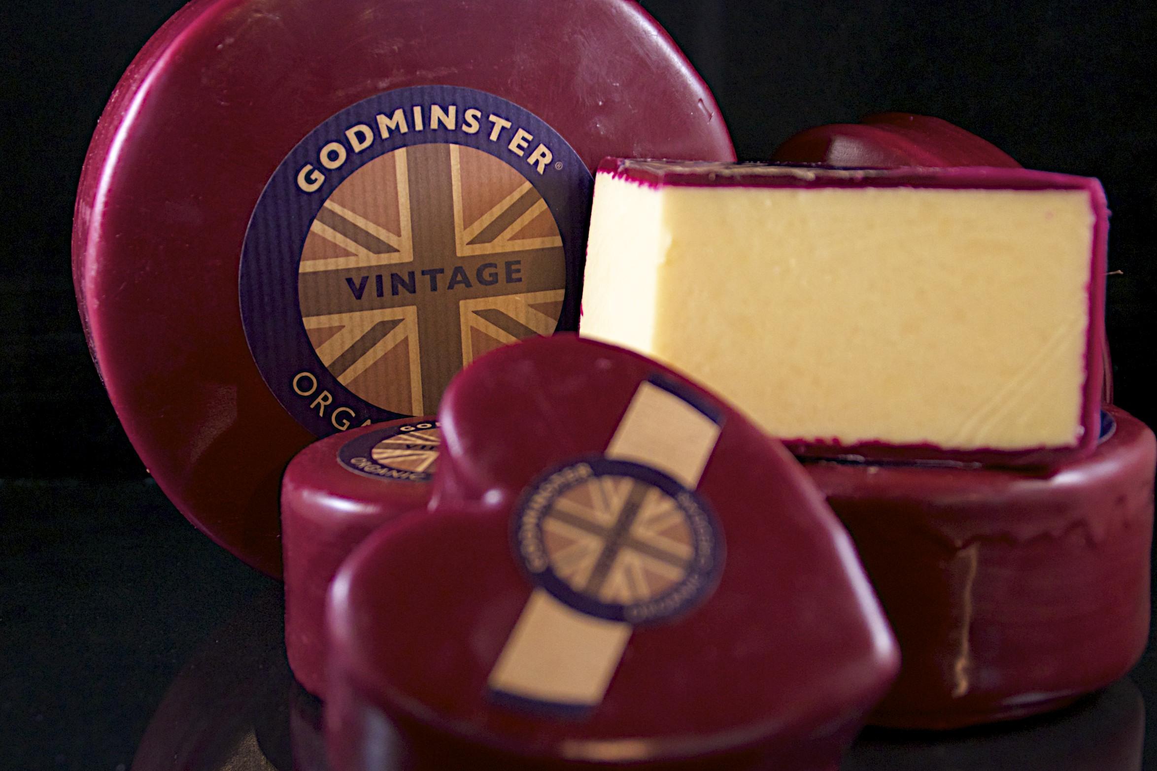 Godminster Cheese - Organic Cheddar