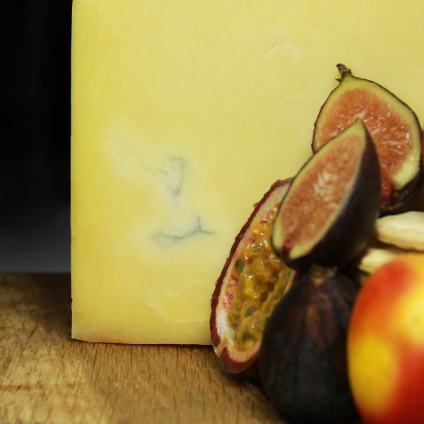 A close up of Montgomery Cheddar Cheese