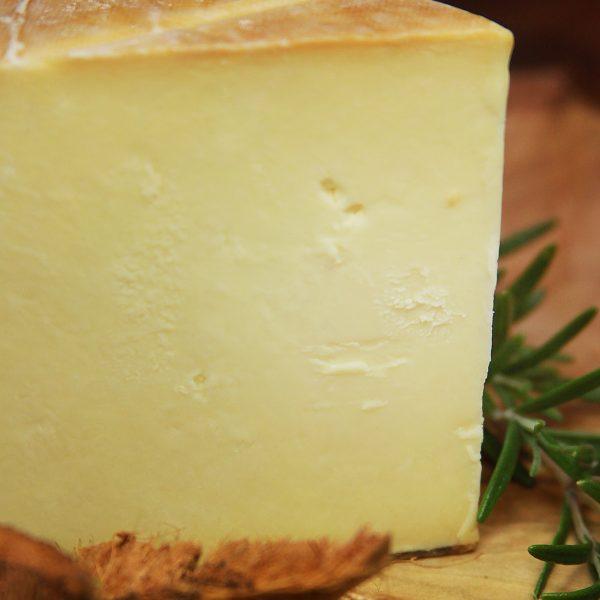 A close up of Smoked Northumberland Cheese