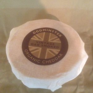 vintage oak smoked godminster cheese
