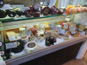 Inside The Stamford Cheese & Wine Cellar Shop