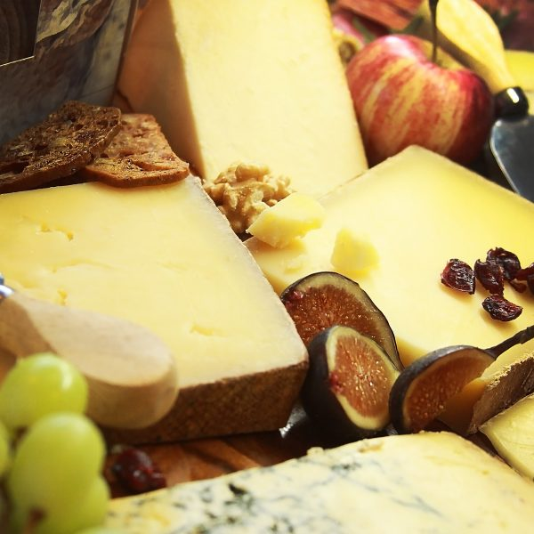 Perfect Cheese Board Close Up