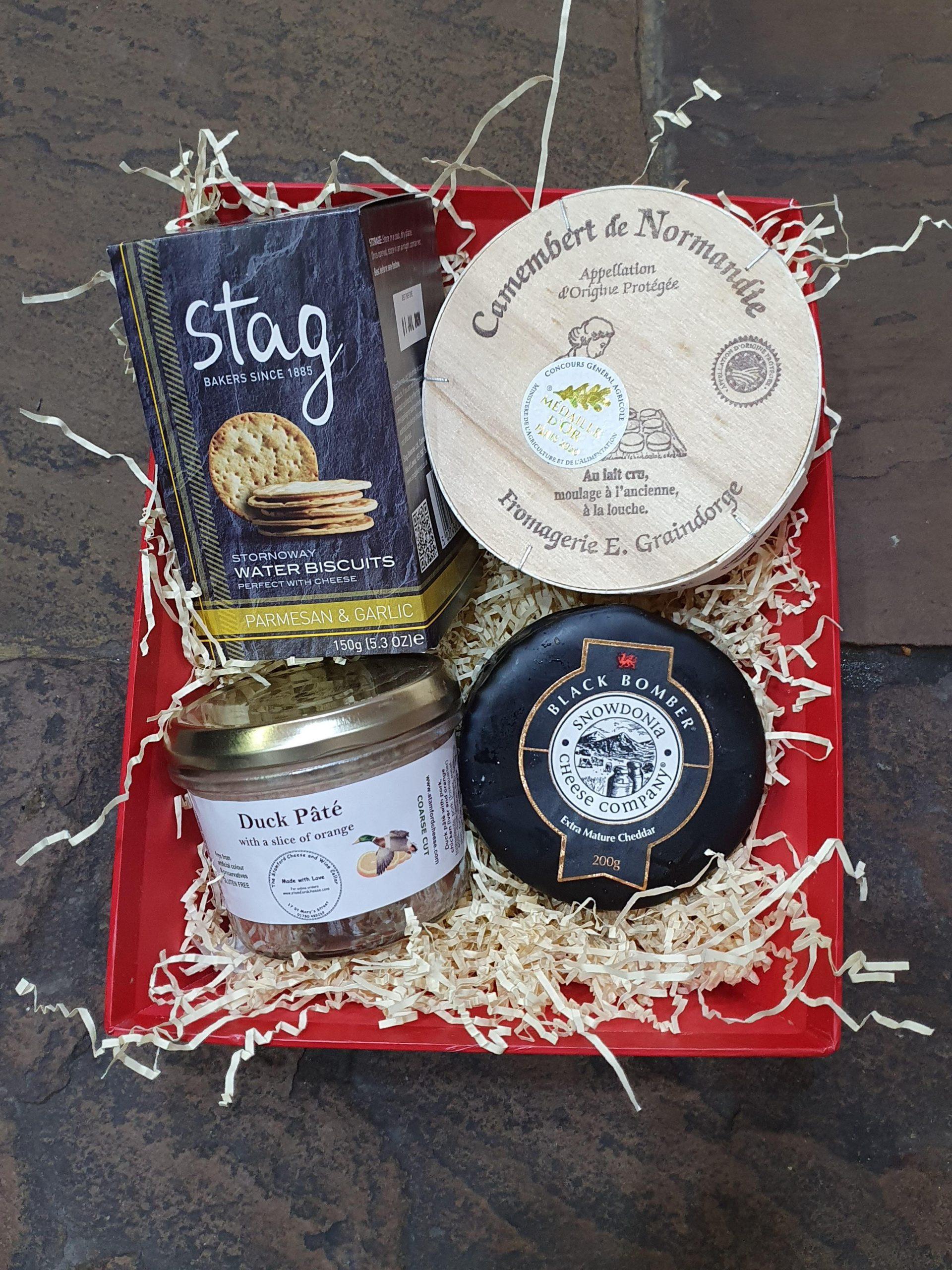 Camembert and Snowdonia Hamper