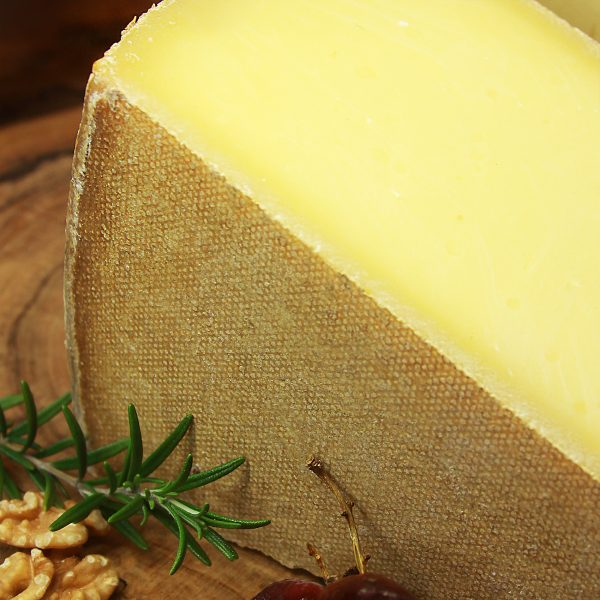 A close up of Le Gruyère Reserve Cheese