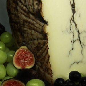 A close up of Pecorino Truffle Cheese