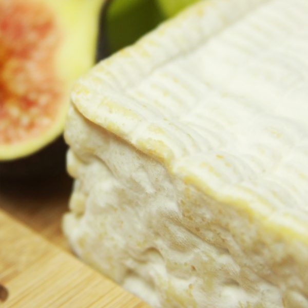A close up of Pont L'Eveque Cheese