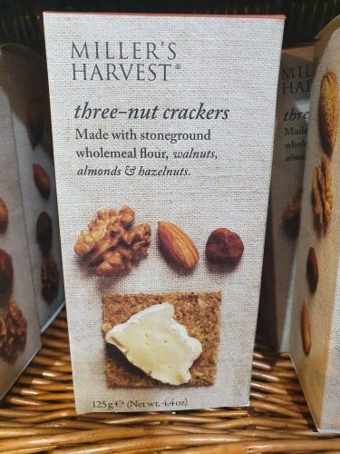 Miller's Harvest three nut crackers