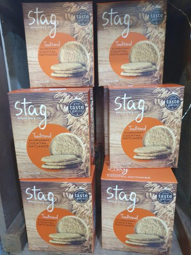 Stag Traditional Cocktail Oatcakes