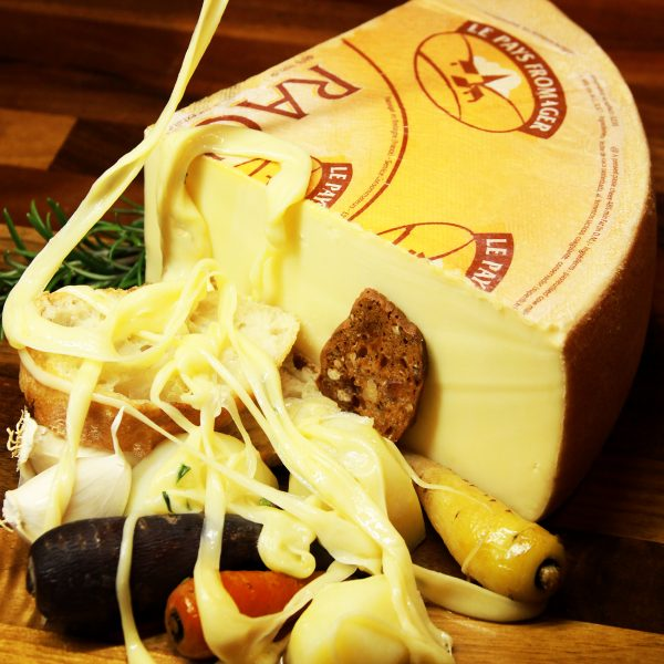 A close up of Raclette Cheese