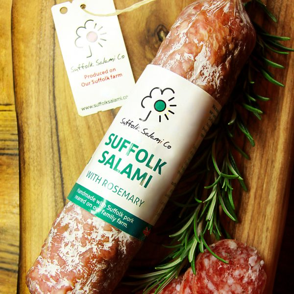 Suffolk Salami with Rosemary