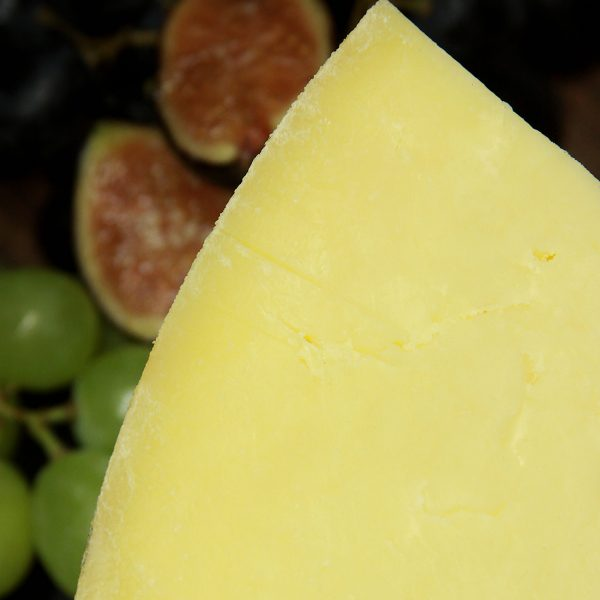 A close up of Westcombe Cheddar Cheese
