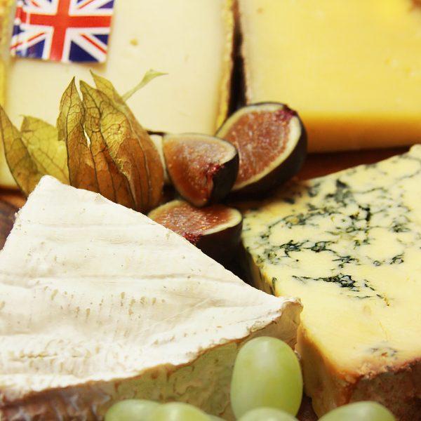 British Cheese Board Close Up