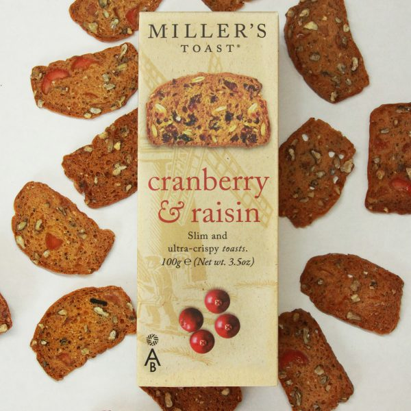 Cranberry and Raisin Miller's Toast
