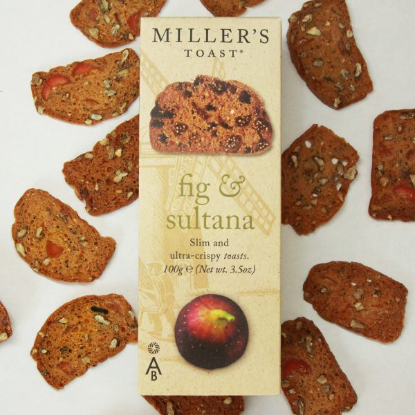 Fig and Sultana Miller's Toast