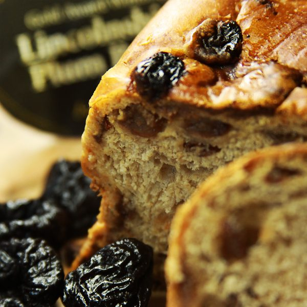 A close up of Lincolnshire Plum Bread