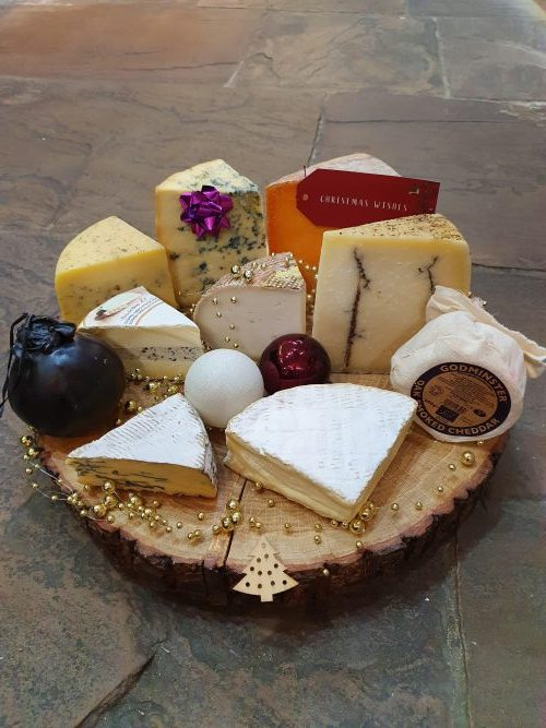 Christmas Cheese Board