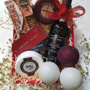 Christmas Hamper with Port