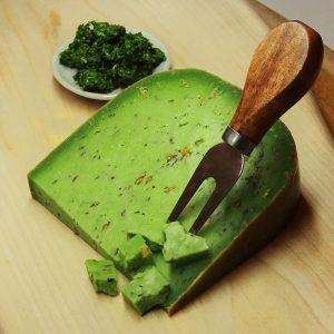Gouda with Pesto Cheese