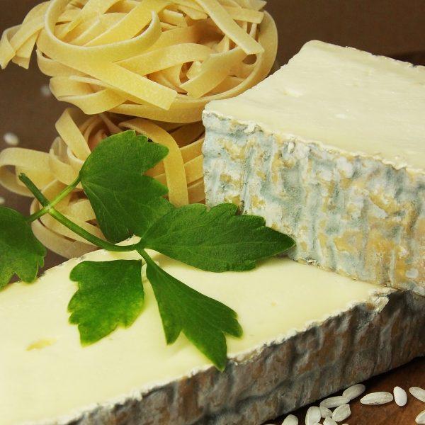 A close up of Taleggio Cheese